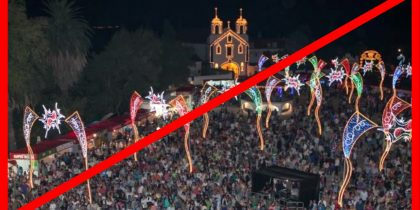 NÃO REALIZAÇÃO DA FESTA DOS CAPUCHOS 2020