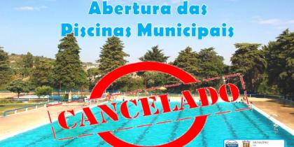 Não abertura da Piscina Municipal Descoberta de Vila Viçosa