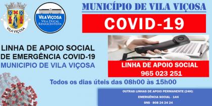 Linha de Apoio Social – COVID-19