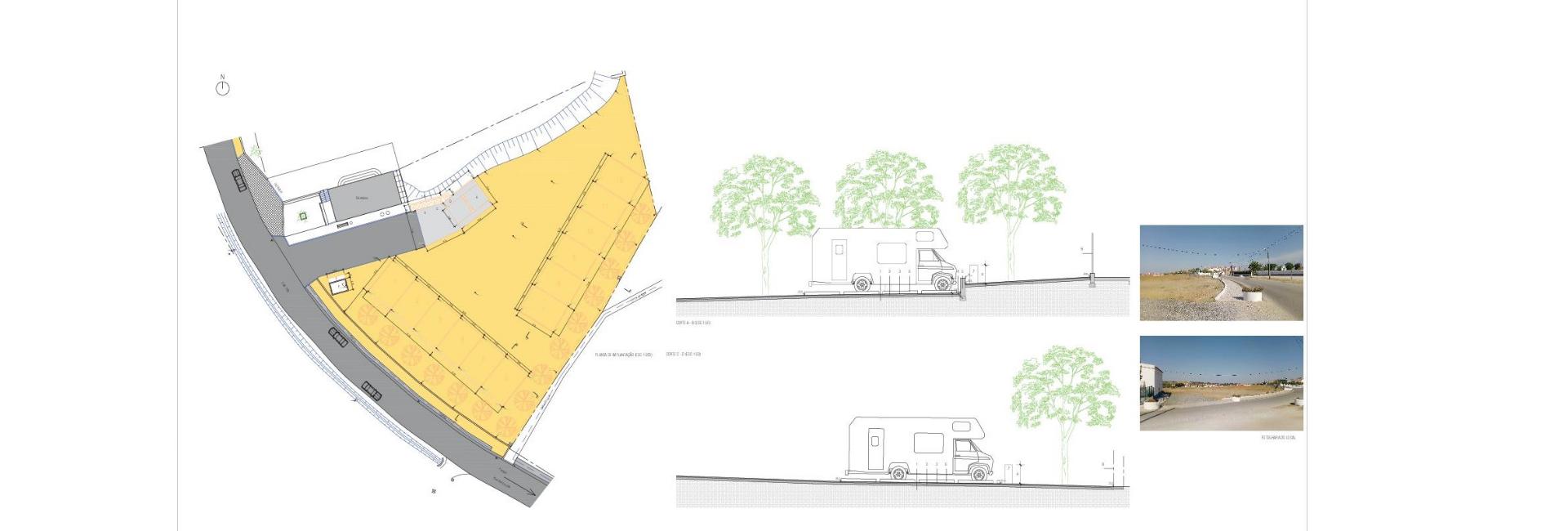 A Câmara Municipal de Vila Viçosa Aprova o Início de Procedimento Para a Empreitada da Obra de Construção das Infraestruturas de Acolhimento Para o Autocaravanismo em Pardais
