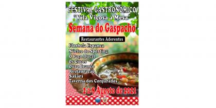 (Português) Festival Gastronómico – «Vila Viçosa à Mesa» Semana do Gaspacho 2021