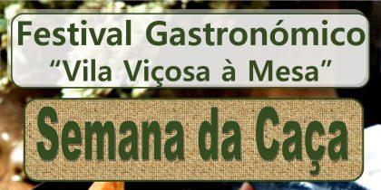 (Português) Semana da Caça – Festival Gastronómico «Vila Viçosa à Mesa» 2021
