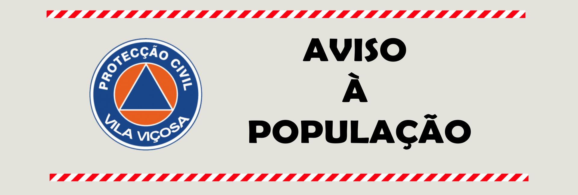 Aviso À População – Precipitação Intensa