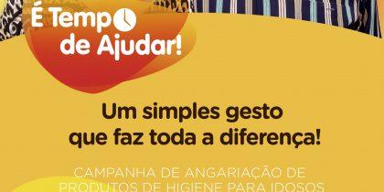 """(Português) Campanha Solidária """"É Tempo de Ajudar"""" 23 e 24 outubro 2021"""
