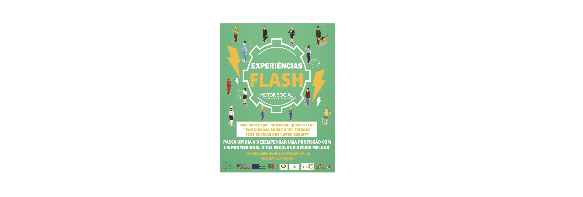 Experiências Flash – Motor Social